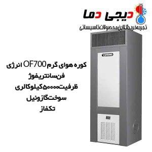 کوره-هوای-گرم-700-انرژی-مدل-OF0700